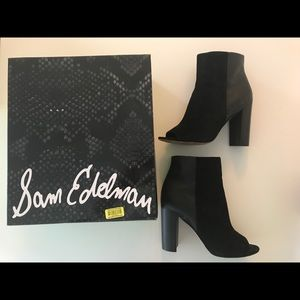 Sam Edelman Peep Toe Boots